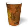 Hold & Go Hot Paper Cups Old World Design 20 oz cups 600 ct