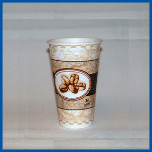 Dixie PerfecTouch Cups Bean Design 8 oz 1000 ct Dixie