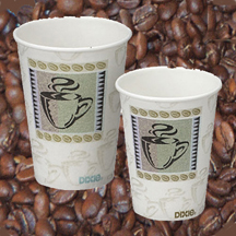 Dixie 8 oz PerfecTouch Cup Coffee Dreams 1000 ct 5338CD