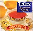Tetley Lemon Spice Tea 6 boxes of 20 ct