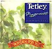 Tetley Peppermint Tea 6 boxes of 20